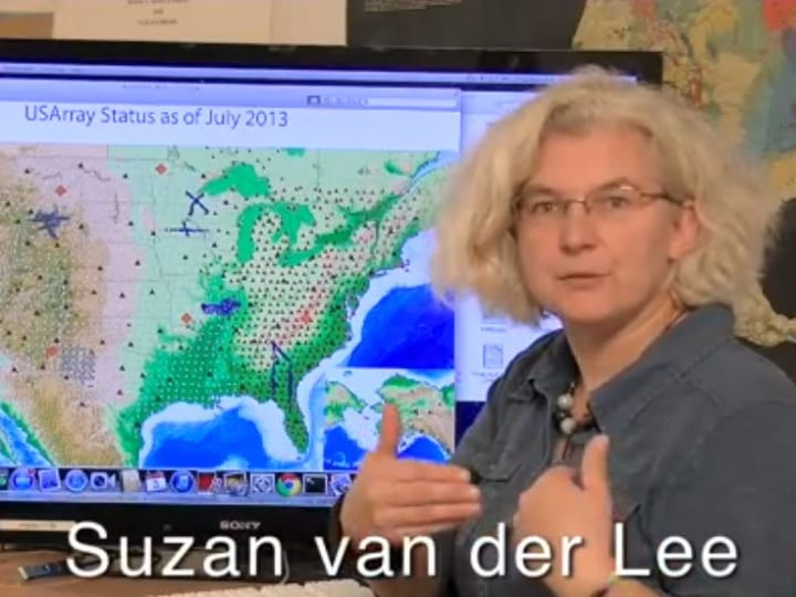 Suzan van der Lee, geologist, scientist, doubts findings