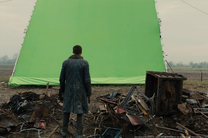 Blade Runner 2049 green screen