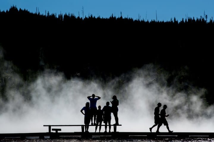 Great Prismatic Spring, Dangerous natural tourist destinations