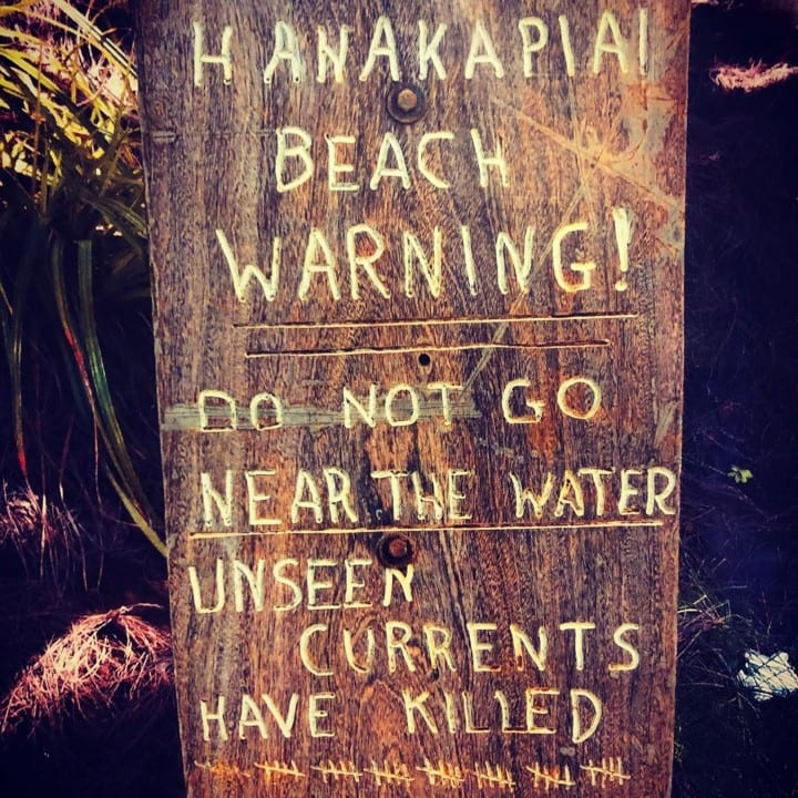 Hanakapiai Beach, Dangerous natural tourist destinations