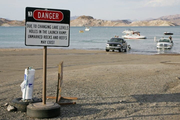 Lake Mead, Dangerous natural tourist destinations