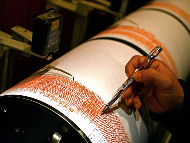 seismic, readings, measurements