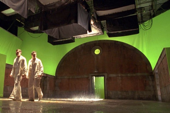 Shutter Island green screen