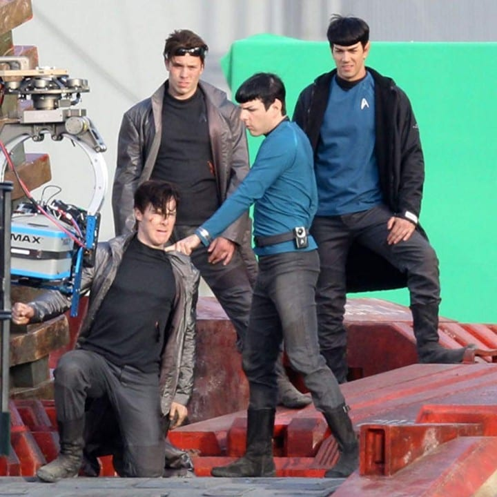 Star Trek: Into Darkness green screen
