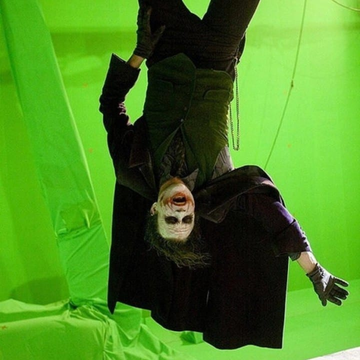 The Dark Knight green screen Joker