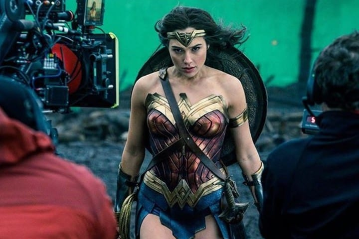Wonder Woman green screen