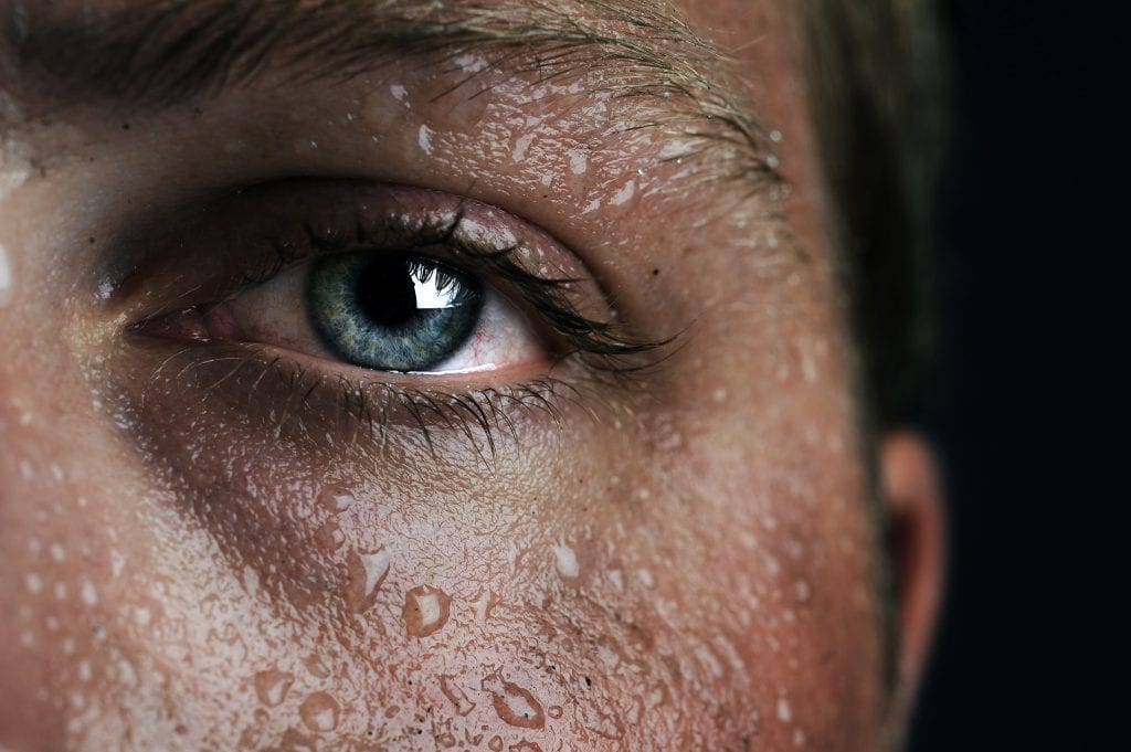 Sweat to the rescue? Researchers do some decoding