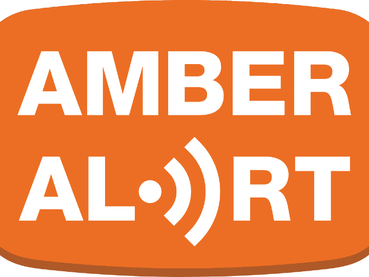 amber alert, danger, sign