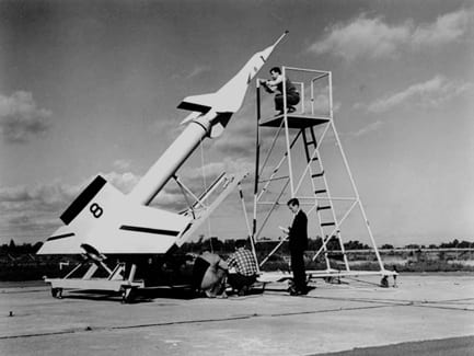 arrow prototype, launch test, Canadian military