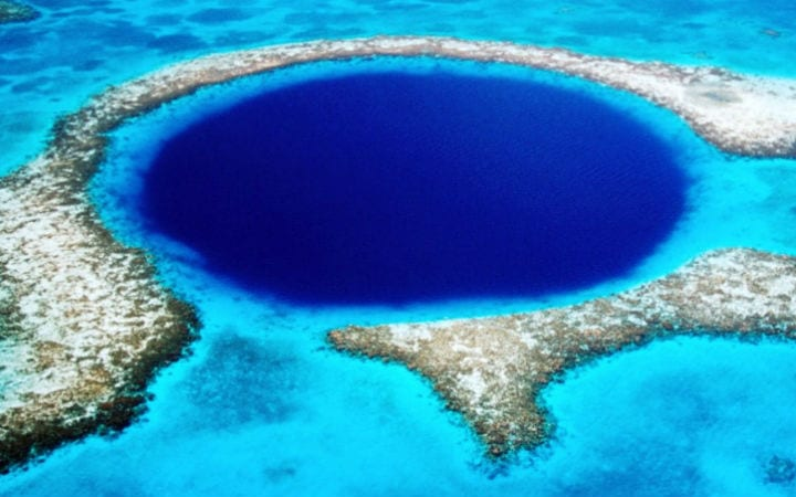 What Explorers Found At The Bottom Of The Great Blue Hole