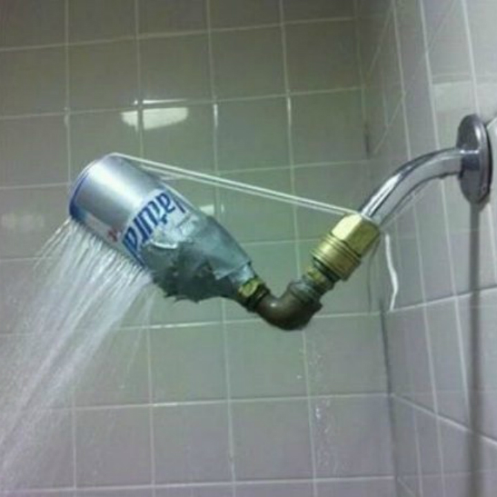 natty ice shower