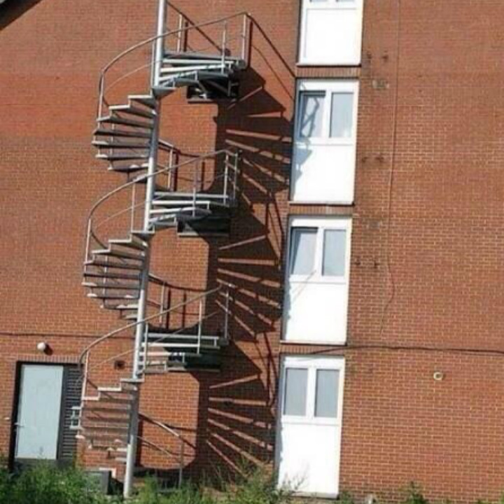 useless stairs