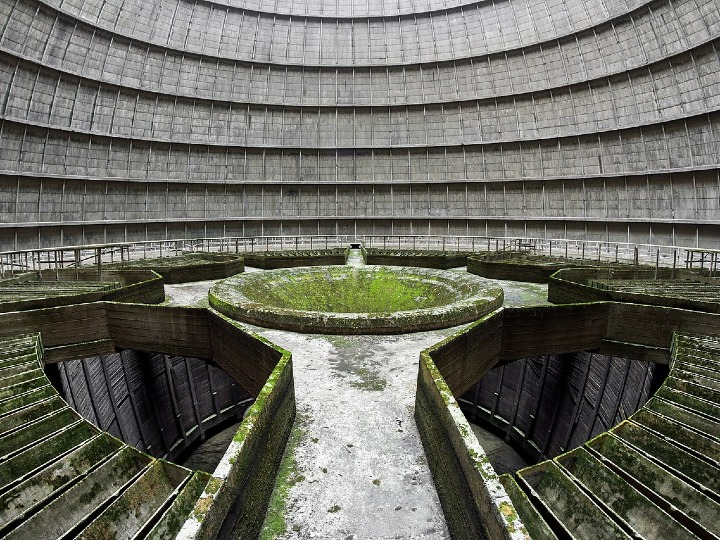 Cooling Tower, Belgium, abandoned