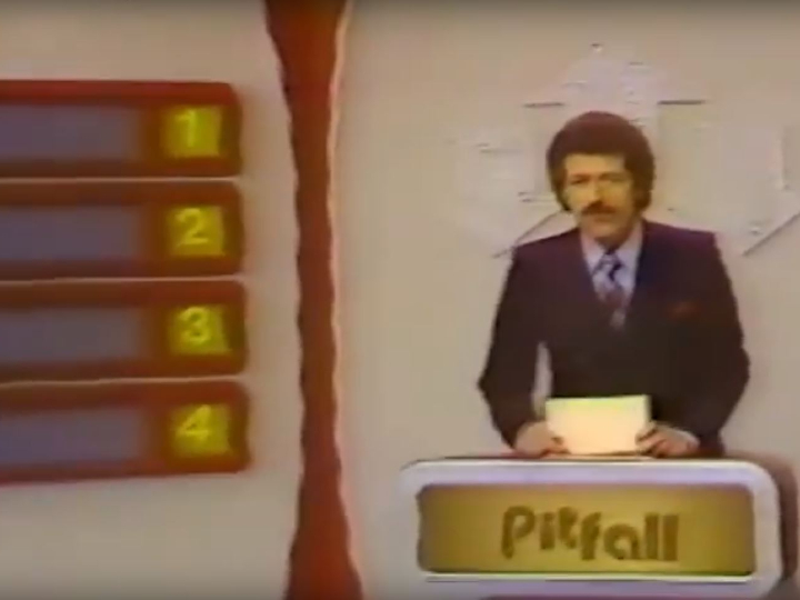 Pitfall, game show, Alex Trebek
