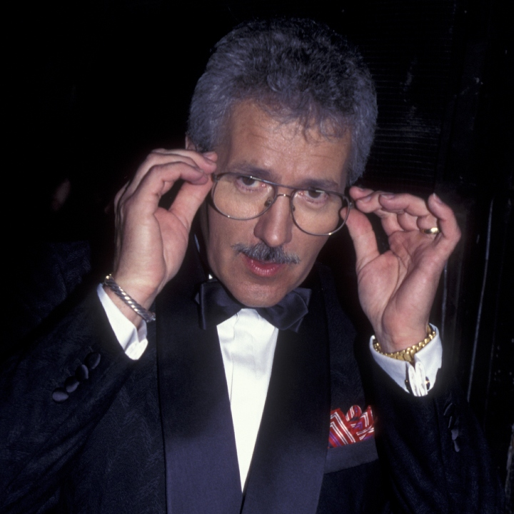 Alex Trebek attends 25th Annual People's Choice Awards on March 5, 1995 at Universal Studios in Universal City, California.