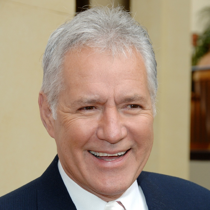 Alex Trebek during The 33rd Annual Daytime Creative Arts Emmy Awards in Los Angeles - Arrivals at The Grand Ballroom at Hollywood and Highland in Hollywood, California, United States.