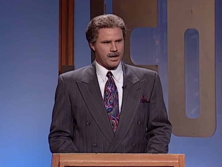 Will Farrel, Trebek impersonation, funny