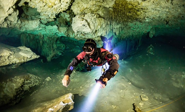 Diving cenote Mexico Dream Gate