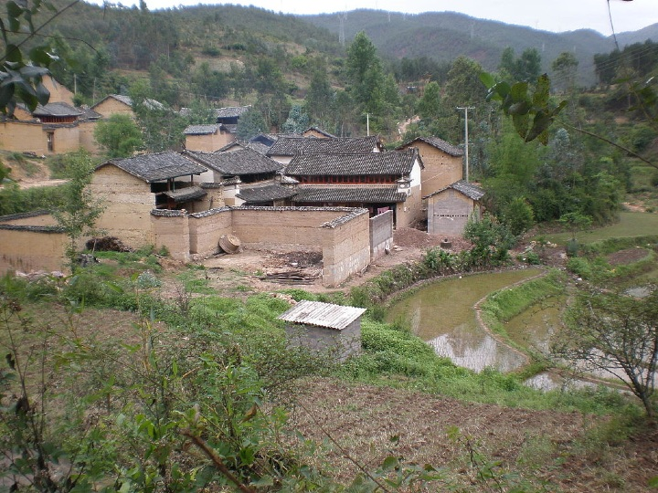 village, Yunnan, rural